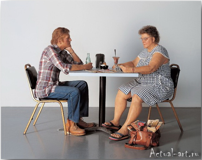 Дуэйн Хэнсон (Duane Hanson)_Sculpture_01