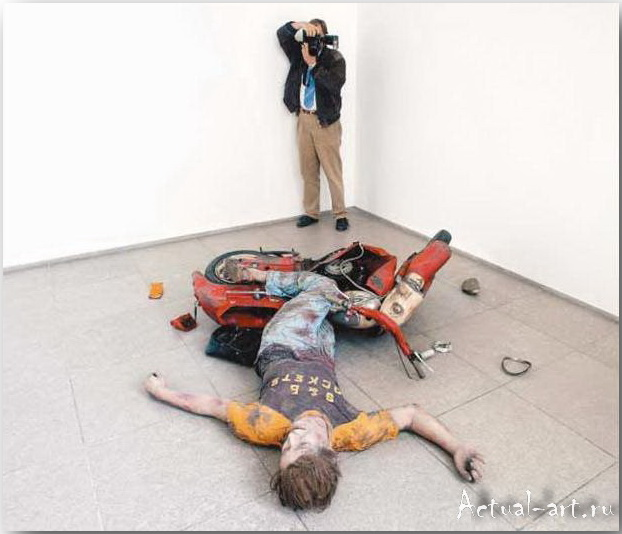 Дуэйн Хэнсон (Duane Hanson)_Sculpture_10