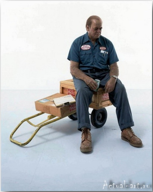 Дуэйн Хэнсон (Duane Hanson)_Sculpture_15