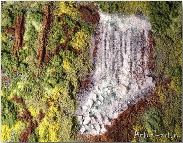 "Salt of the Earth's ""Forest Fall""_Келли МакКоллам (Kelly McCollam)_Картины из специй_07"