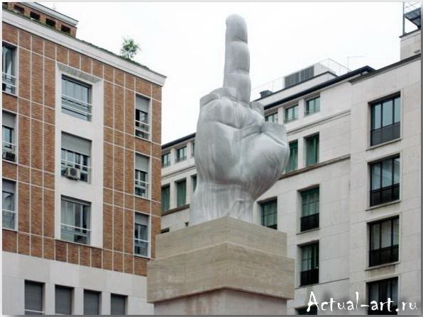 Скульптура «L.O.V.E»_Маурицио Кателлан (Maurizio Catellan)_art_Инсталляции_06