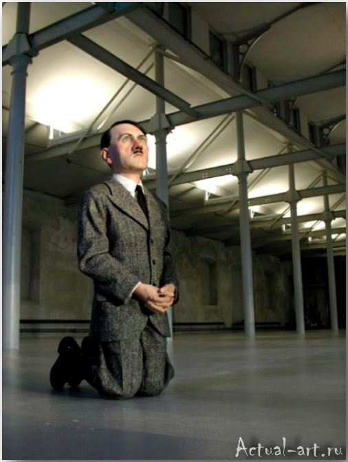 Скульптура «Он»_Маурицио Кателлан (Maurizio Catellan)_art_Инсталляции_07