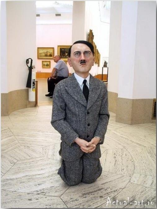 Скульптура «Он»_Маурицио Кателлан (Maurizio Catellan)_art_Инсталляции_09