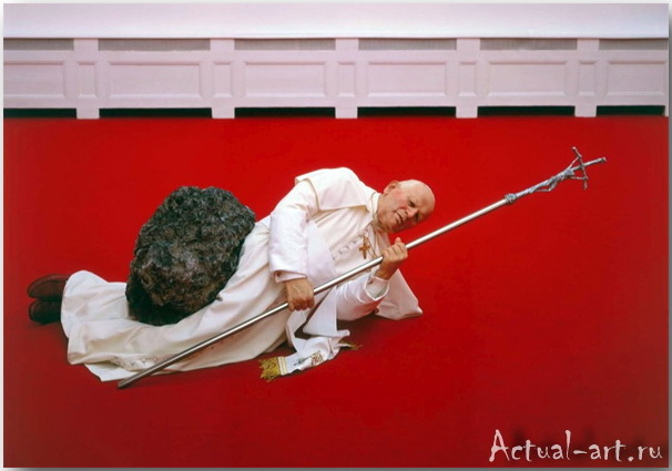 Скульптура «La Nona Ora»_Маурицио Кателлан (Maurizio Catellan)_art_Инсталляции_11