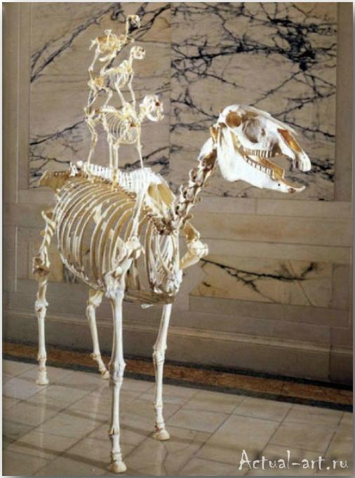 Скульптура «Бременские музыканты»_Маурицио Кателлан (Maurizio Catellan)_art_Инсталляции_17