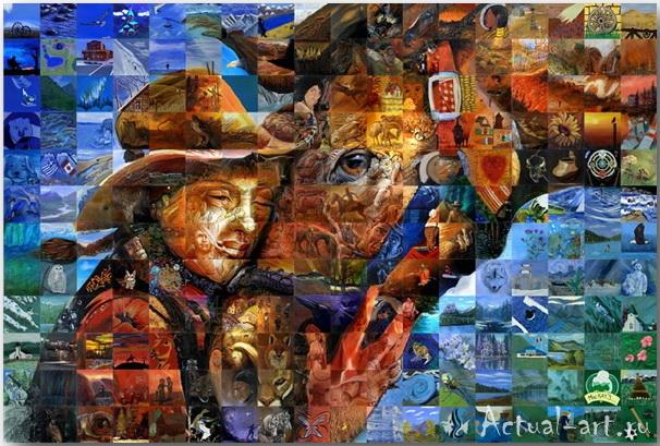 Фрески-мозаики Льюиса Лаво (Lewis Lavoie)_art_05