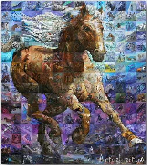 Фрески-мозаики Льюиса Лаво (Lewis Lavoie)_art_09