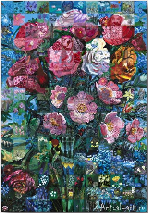 Фрески-мозаики Льюиса Лаво (Lewis Lavoie)_art_12