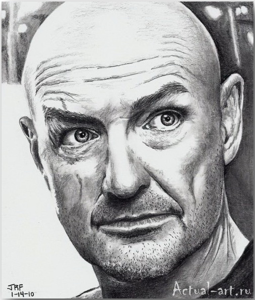 Рик Фортсон (Rick Fortson)_Dr. Pencil_art_Живопись_01