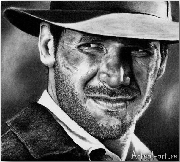 Рик Фортсон (Rick Fortson)_Dr. Pencil_art_Живопись_02