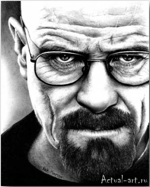 Рик Фортсон (Rick Fortson)_Dr. Pencil_art_Живопись_05
