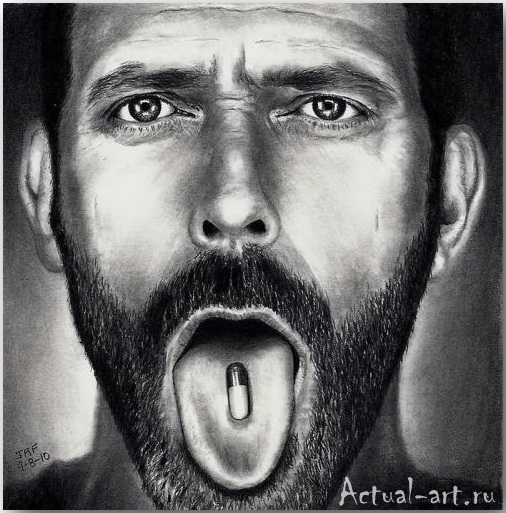 Рик Фортсон (Rick Fortson)_Dr. Pencil_art_Живопись_10