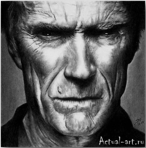 Рик Фортсон (Rick Fortson)_Dr. Pencil_art_Живопись_12