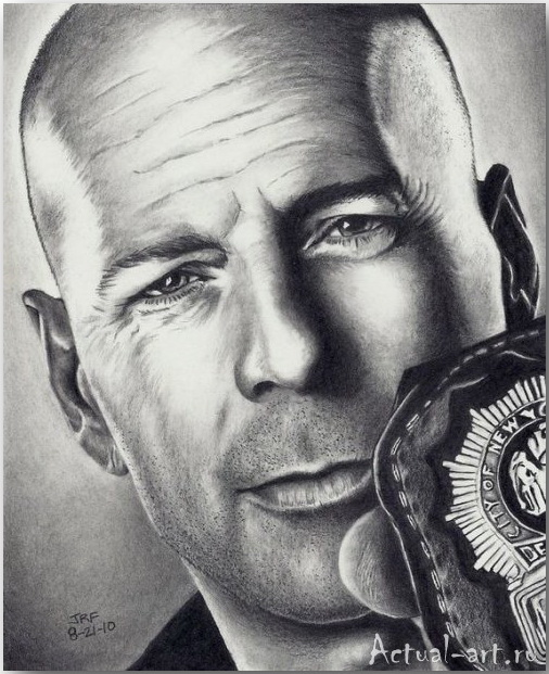 Рик Фортсон (Rick Fortson)_Dr. Pencil_art_Живопись_17