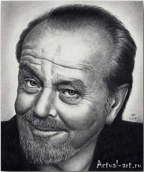 Рик Фортсон (Rick Fortson)_Dr. Pencil_art_Живопись_18