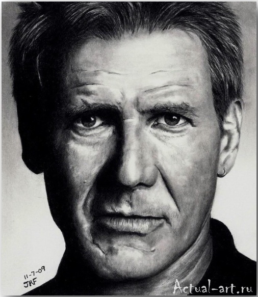 Рик Фортсон (Rick Fortson)_Dr. Pencil_art_Живопись_20