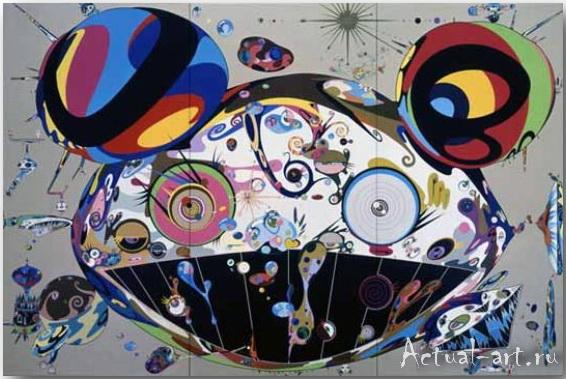 Такаши Мураками (Takashi Murakami)_art_поп-арт_03