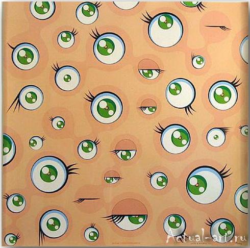 Такаши Мураками (Takashi Murakami)_art_поп-арт_04