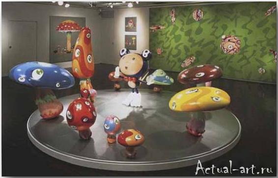 Такаши Мураками (Takashi Murakami)_art_поп-арт_07