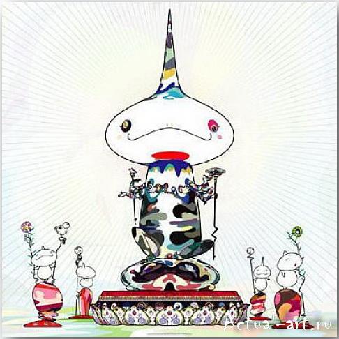 Такаши Мураками (Takashi Murakami)_art_поп-арт_12