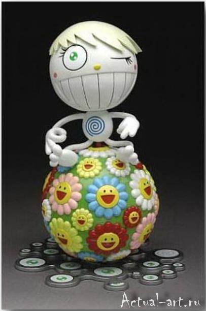 Такаши Мураками (Takashi Murakami)_art_поп-арт_14