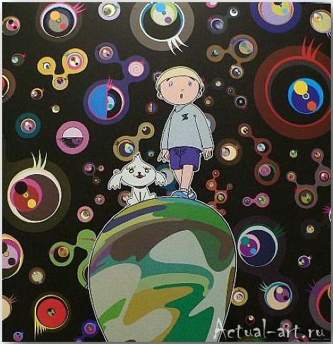 Такаши Мураками (Takashi Murakami)_art_поп-арт_17