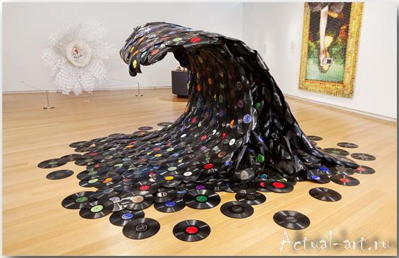 Скульптура Sound Wave_Jean Shin