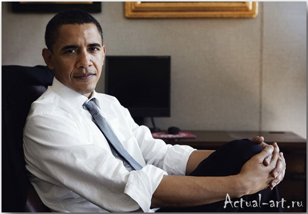 Барак Обама__Энни Лейбовиц (Annie Leibovitz)_Photography_10