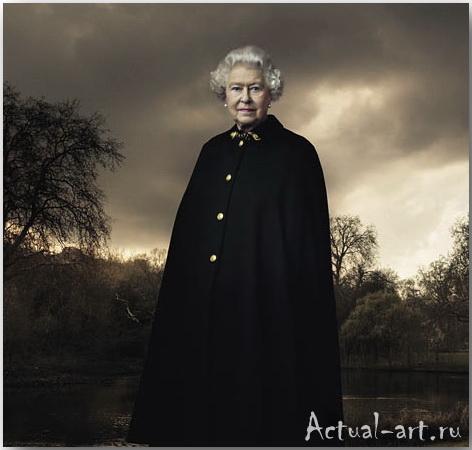 Королева Великобритании Елизавета Вторая__Энни Лейбовиц (Annie Leibovitz)_Photography_13