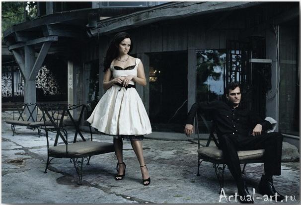 Риз Уизерспун и Хоакин Феникс__Энни Лейбовиц (Annie Leibovitz)_Photography_18