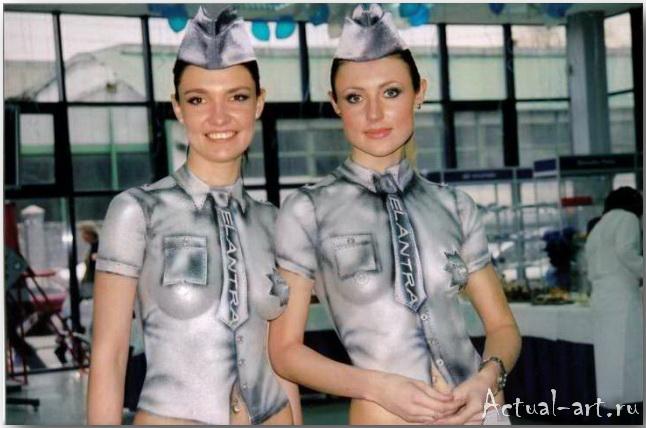 Боди-арт от Вероники Сывороткиной_08