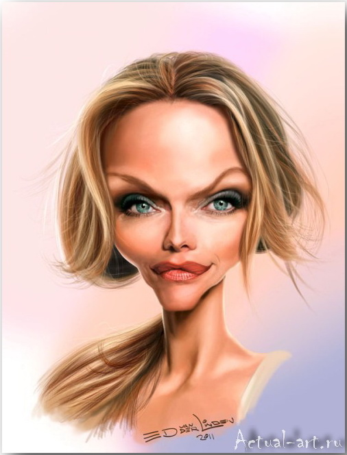 Michelle Pfeiffer__Эд ван дер Линден (Ed van der Linden)_art_05