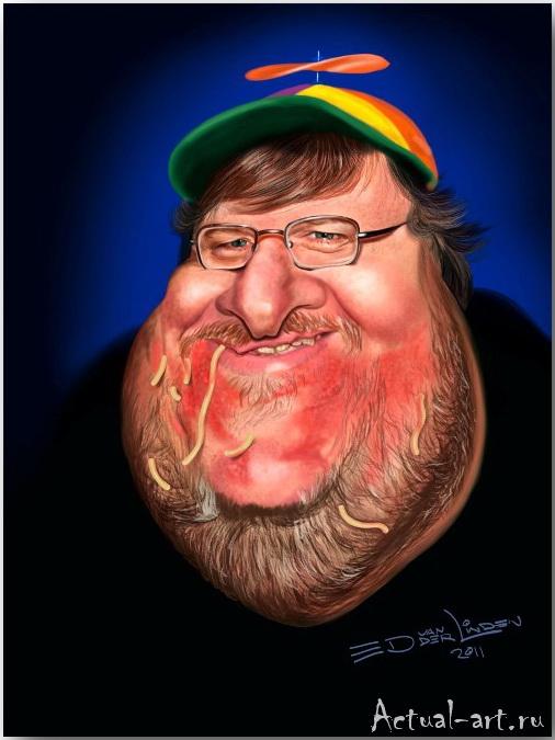 Michael Moore__Эд ван дер Линден (Ed van der Linden)_art_10