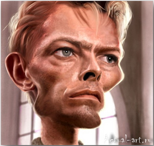 David Bowie__Эд ван дер Линден (Ed van der Linden)_art_14