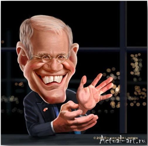 David Letterman__Эд ван дер Линден (Ed van der Linden)_art_23