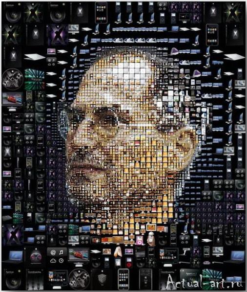 Tsevis Charis_iHero – Steve Jobs portraits_01