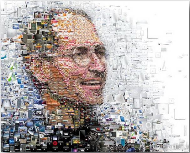 Tsevis Charis_iHero – Steve Jobs portraits_03