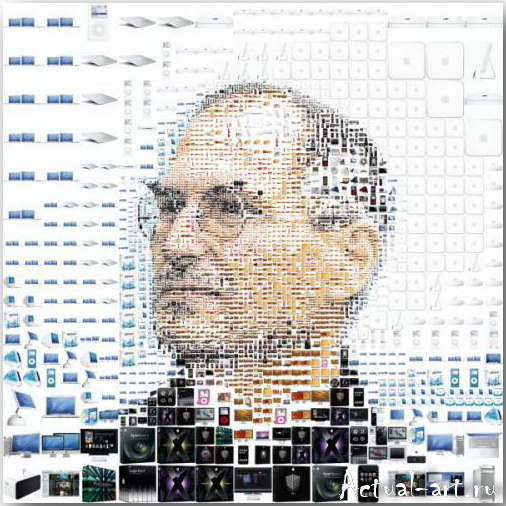 Tsevis Charis_iHero – Steve Jobs portraits_04