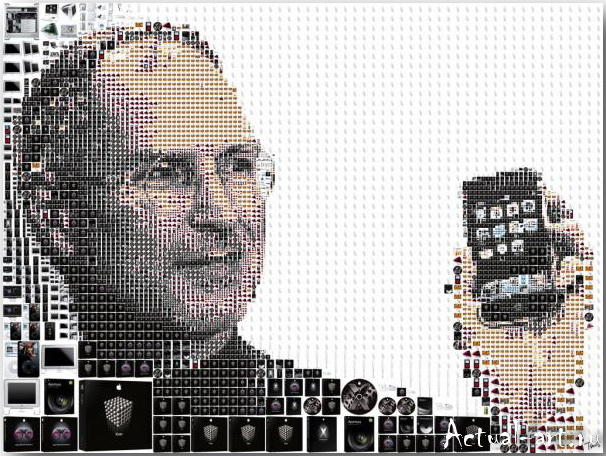 Tsevis Charis_iHero – Steve Jobs portraits_05