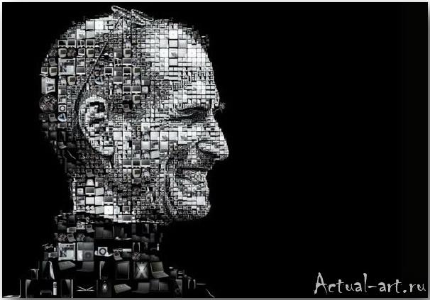 Tsevis Charis_iHero – Steve Jobs portraits_06