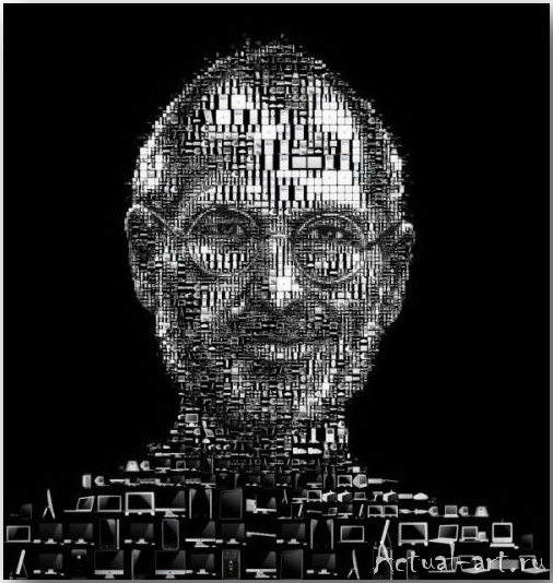Tsevis Charis_iHero – Steve Jobs portraits_07