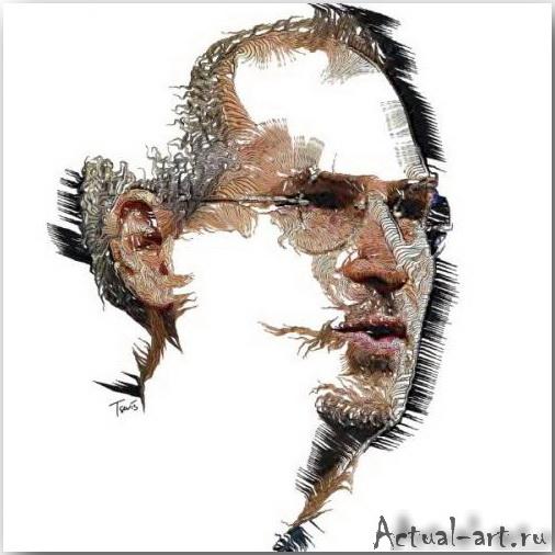 Tsevis Charis_iHero – Steve Jobs portraits_09