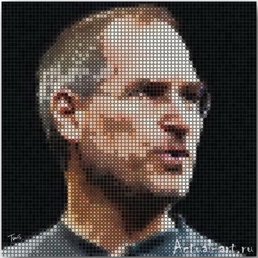 Tsevis Charis_iHero – Steve Jobs portraits_10