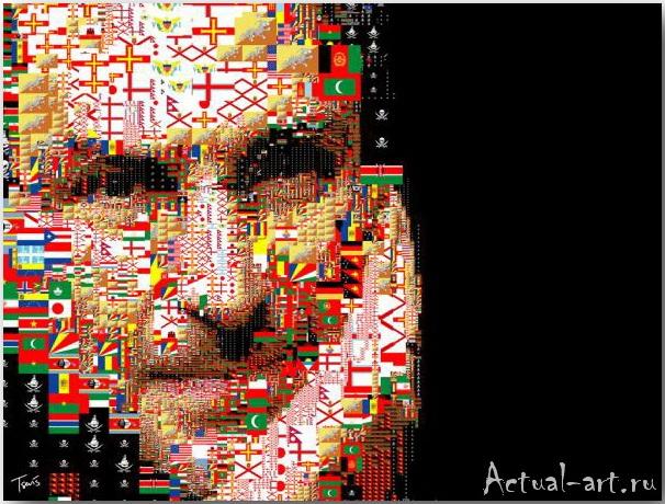 Tsevis Charis_iHero – Steve Jobs portraits_11