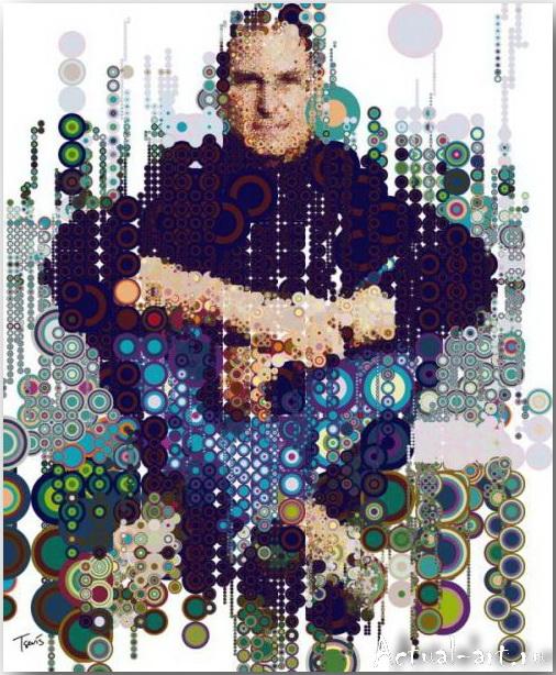 Tsevis Charis_iHero – Steve Jobs portraits_13