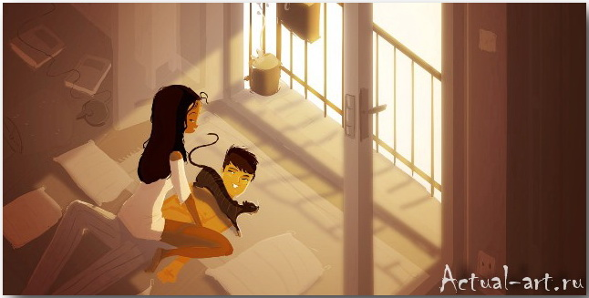 Паскаль Кэмпион (Pascal Campion)_art_illustration_38