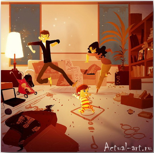 Паскаль Кэмпион (Pascal Campion)_art_illustration_50