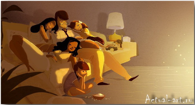 Паскаль Кэмпион (Pascal Campion)_art_illustration_59