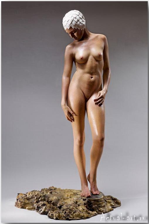 Кэрол Фейерман (Carole Feuerman)_Sculpture_05