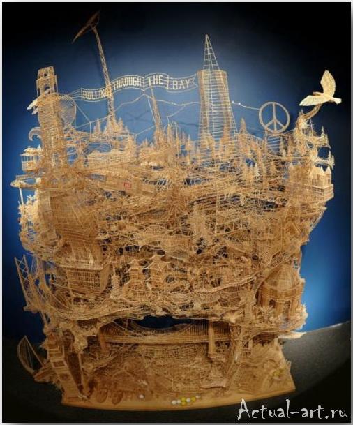 Скотт Вивер (Scott Weaver)_Sculpture_25